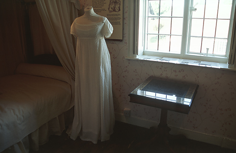Jane Austen bedroom